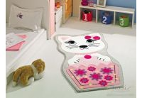 Детский коврик Confetti. Kitty, размер 80х150 см