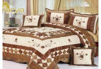 Покрывало Arya Star Hermosa коричневого цвета с наволочками