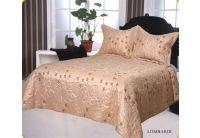 Покрывало Arya Lombardi кремового цвета с наволочками