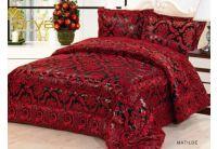 Покрывало Arya Matilde красного цвета с наволочками