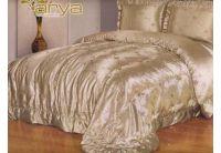 Покрывало Arya Rivista бежевого цвета с наволочками