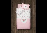 Постельное белье в детскую кроватку Aran Clasy. Rosen