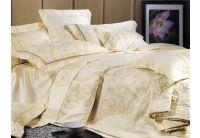 La Scala, комплект постельного белья 3D-036 шелковый жаккард с шелковой вышивкой