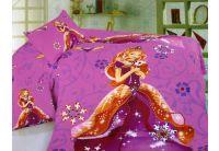La Scala, Barbie KI043, 1,5-спальный комплект белья, сатин