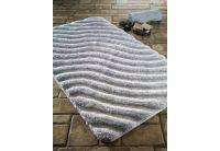 Коврик для ванной Confetti. Halikarnas karbeyaz, прорезиненный 60х100 см