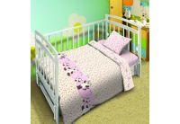 Постельное белье в детскую кроватку Непоседа Мой ангел. Котята-мышата вид 1