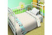 Постельное белье в детскую кроватку Непоседа Мой ангел. Котята-мышата