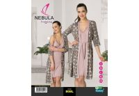 Комплект халат + рубашка Nebula. 808L