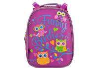 Рюкзак школьный каркасный YES. H-12 Barbie