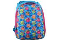 Рюкзак каркасный 1 Вересня. H-12 Hearts