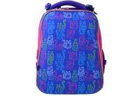 Рюкзак каркасный YES. H-12-1 Hearts turquoise