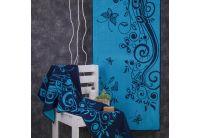 Махровое полотенце Речицкий текстиль. КОСМОС бирюзовое