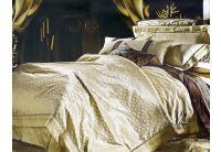 La Scala, комплект постельного белья 3D-054 шелковый жаккард с шелковой вышивкой