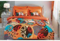 Постельное белье Evas оранжевого цвета