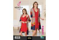 Комплект халат + рубашка  Nebula. 802A