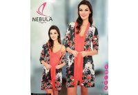 Ночная рубашка и халат Nebula. 806A