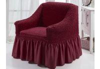 Чехол для кресла Arya. Burumcuk коричневого цвета