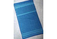 Махровое полотенце Речицкий текстиль. ПОЛИНА синее