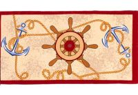 Полотенце пляжное Shamrock. «Якорь-5», размер  75х150