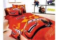 Постельное белье La Scala, Cars Team KI010, 1,5-спальный комплект белья, сатин