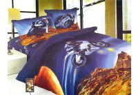La Scala, Мотокросс KI032, 1,5-спальный комплект белья, сатин