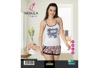Комплект прогулочный майка и шорты  Nebula.  200R