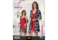 Ночная рубашка и халат Nebula. 802D