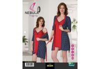 Ночная рубашка и халат Nebula. 802H