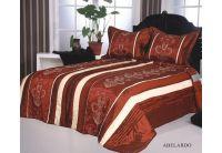 Покрывало Arya Abelardo бордового цвета с наволочками