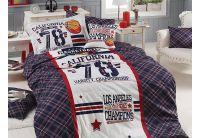 Подростковое постельное белье First Choice. Ranforce Deluxe 3D Allstar
