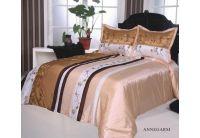 Покрывало Arya Annegarsi кремового цвета с наволочками