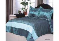 Покрывало Arya Babbo голубого цвета с наволочками