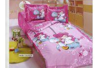 Постельное белье в детскую кроватку Arya. Baby Queen