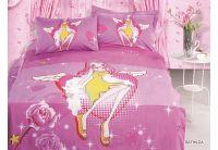 Arya, Bathilda, 1,5-спальный комплект белья, сатин