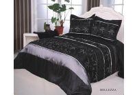 Покрывало Arya Bellezza черного цвета с наволочками
