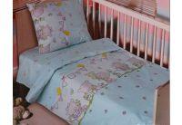 Постельное белье в детскую кроватку Блакит. 4530 Мишутки