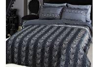 Tac, комплект Davina серого цвета, сатин De-Luxe