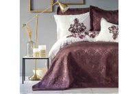 Постельное белье с покрывалом Karaca Home. Quatre delux murdum 2019