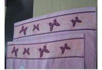 """Махровое полотенце """"Бабочки"""""""