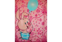 """Плед  детский Непоседа""""Винни Пух"""" дизайн """"Воздушный шар"""", 160х130 см"""