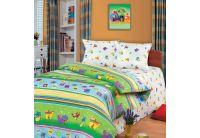 Постельное белье в детскую кроватку Непоседа. Танцующие динозавры