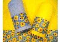 """Махровое полотенце """"Цветы прованса"""""""