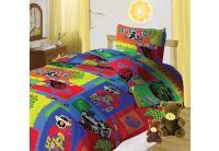 """Тотошка, комплект постельного белья """"Ралли"""", размер 1,5 спальный, бязь"""