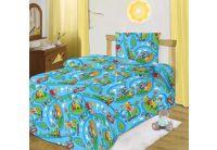 """Тотошка, комплект постельного белья """"Светофор"""", размер 1,5 спальный, бязь"""
