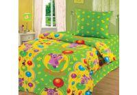 Непоседа, Воздушные шарики, 1,5-спальный комплект белья, бязь