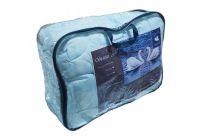 Одеяло Магия Снов. Соло, нанофайбер, 180х210 см голубое в упаковке
