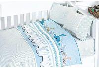 Постельное белье в детскую кроватку First Choice. Ginny Pudra