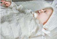 Рубашка крестильная  Mimino baby. Семейные ценности удлиненная