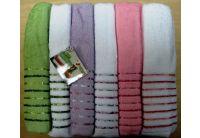 Набор из 6-ти махровых полотенец Mariposa. Neon