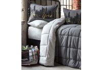 Постельное белье с одеялом Karaca Home. Londra bej 2019-2